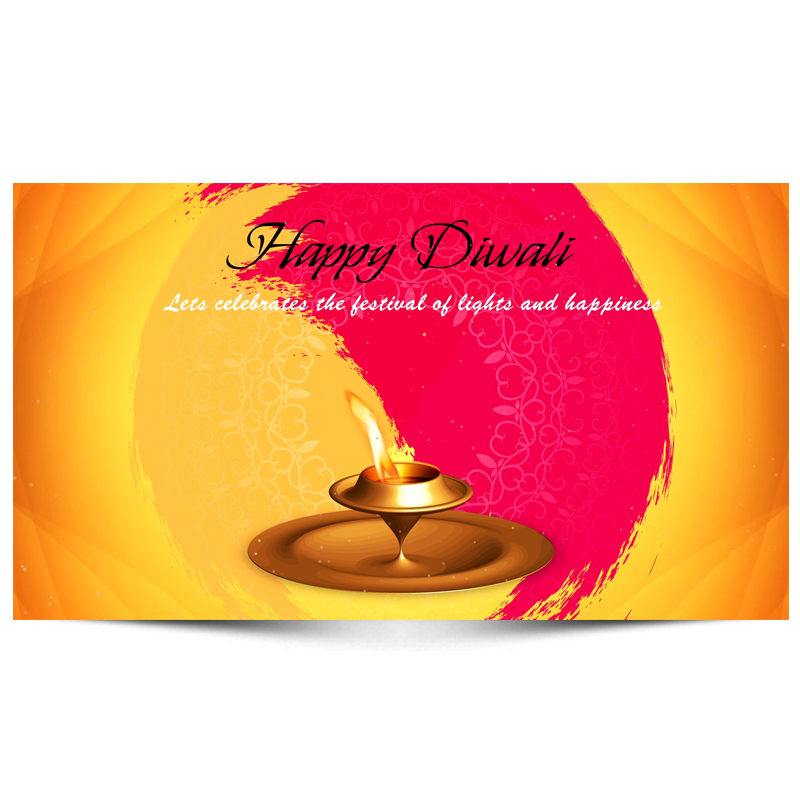 Diwali Lights Promotional Video with Your Logo